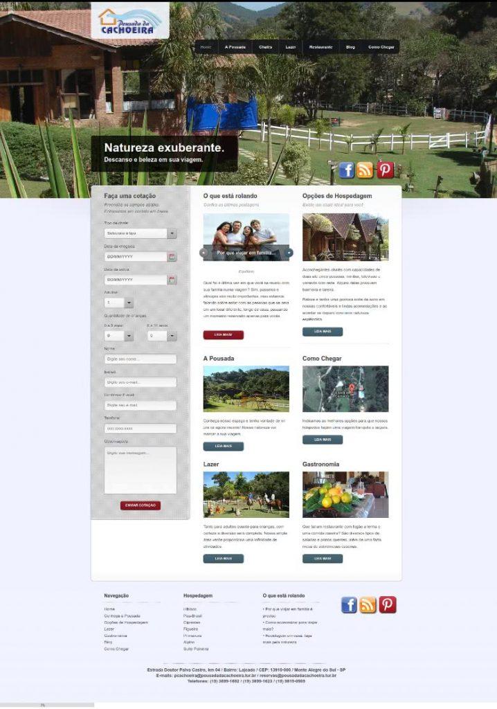 site otimizado para hoteis