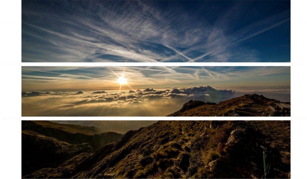 Regra dos três terços - paisagem
