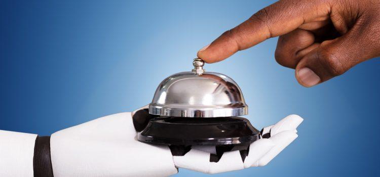 Recepcionista robô: novos aliados na hotelaria